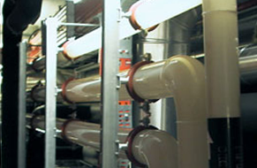Industrial Piping Systems Bio Waste Treatment Plant - Decomposition Plant